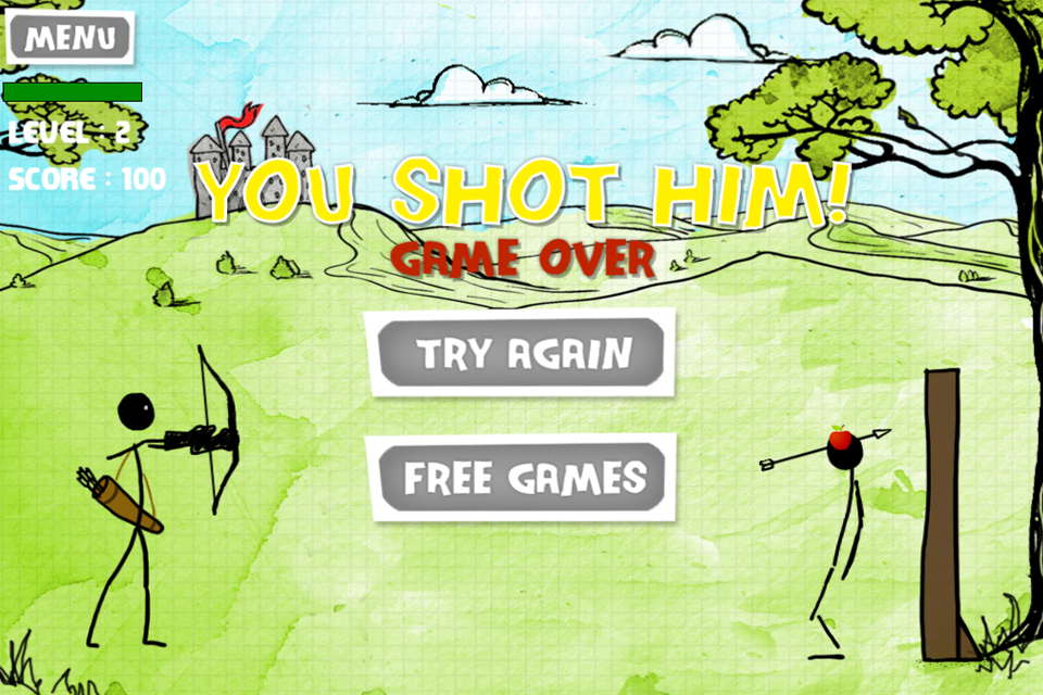 Screenshot Apple Aim Skill Shooting Free